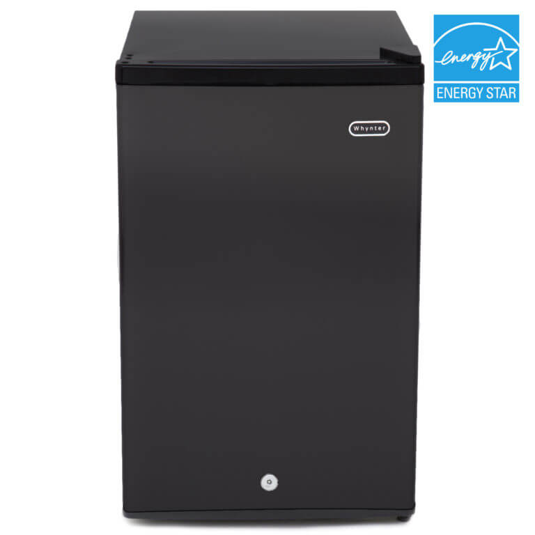 Whynter CUF-301BK 3.0 cu. ft. Energy Star Upright Freezer with Lock