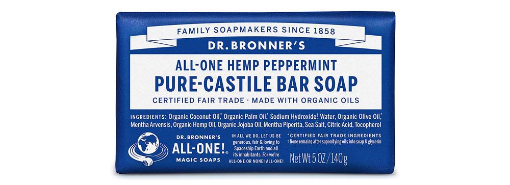 dr bronners bar shampoo