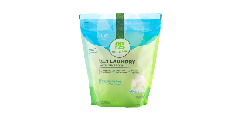 Grab Green Plant Based and Mineral Based Laundry Detergent Pods